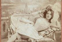 Vintage Courtesans Brothels Saloons