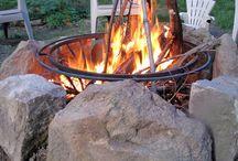 Ogień w Ogrodzie / Fireplaces in garden