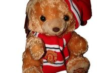 Manchester United Soft Toys Teddies etc / Official Manchester United Soft Toys Teddies etc