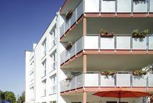 Moderne Pflegeheime in Frankfurt