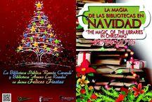 """2014-""""La Magia de las Bibliotecas en Navidad"""". - """"The Magic of the Libraries in Christmas"""". / Talleres Navideños 2014, realizados en la Red de Bibliotecas Municipales de Tocina-Los Rosales."""
