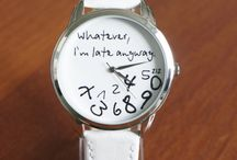"""A watch that is just like """"Whateva"""""""