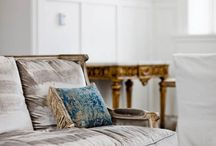 Velvet sofas!!