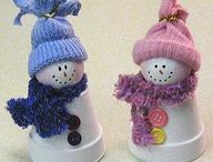 Snow man crafts
