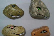 Arte em pedras