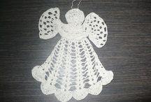 Crochet Angels / Szydełkowe anioły, wzory, schematy, inspiracje