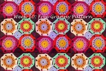 Crochet squares motifs shapes / by Sasha Schmidt