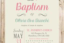 προσκλήσεις βάπτισης