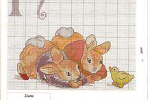 Cross stitch Beatrix Potter