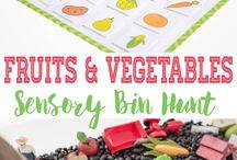 Kids Themes : Fruit Veg Farming
