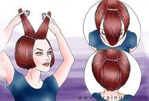 хитрости с волосами