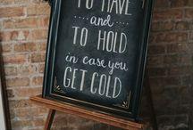 Our winter wedding ideas