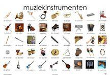 Muziek instrumenten.