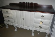 ball and claw painted furniture