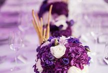 Mary and Tope / Wedding, Purple, Gold