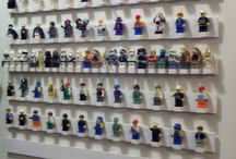 Lego Storage Display and Sets