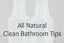 Natural Cleaning / Clean your home naturally with chemical free products and DIY recipes for cleaning products you can make at home.