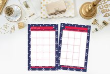 Printable Planners / Printable Planners by Jessica Marie Design