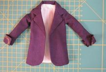 Miniatura de roupas DIY