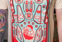 [Research Archive] Pinball league t-shirt design