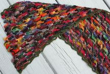 Knitted Scarves/Scarfs, Cowls and Neck Warmers / Knitted Scarves/Scarfs, Cowls and Neck Warmers from Knit.Community website.