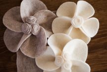 Making FLOWERS & BOWS / by Michelle Hayes