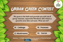 Contest Questions / ‪#‎UrbanGreen‬ ‪#‎Contest‬ Begins! Answer this simple question and stand a chance to win ‪#‎Flipkart‬ Vouchers!  Don't forget to follow us on Twitter @UrbanGreenIndia Read the terms & conditions here - http://on.fb.me/1G58Frc