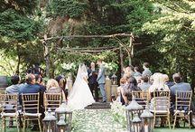 Wedding outside