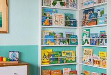 Book shelves / Girls room