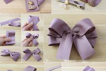 make ribbons / handmade