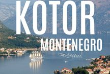 Montenegro / This corner of the Balkans is still a somewhat undiscovered gem of the Mediterranean. Montenegro is full of beautiful seaside and mountain views with a slightly calmer pace than the cruise-heavy Dalmatian Coast of neighboring Croatia. I used many of these pins myself to plan my week-long trip to Kotor in August 2016.