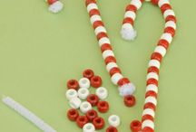 Christmas crafts for Lu
