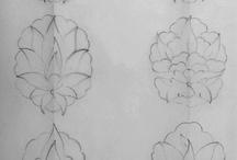 Tezhip desen / Desen örnekleri