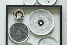 Modern pattern dishware