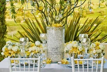 table settings & centerpieces / by Flowers by Pep [Pep Turner]