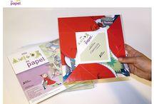 Mis amigos de papel / Juego Didáctico-Artístico.  Combina la ilustración con el origami. Autoedición. Ventas: pedidos@misamigosdepapel.com