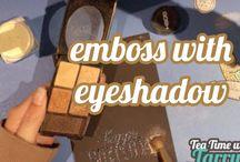 Card Making - Using Eyeshadow