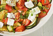 Salat / Kräuterbutter