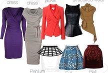 How to dress rectangular body shape