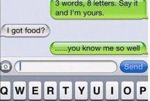 Texting at point