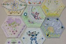Hexagon + Paper Piecing