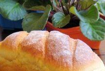 somente pães.