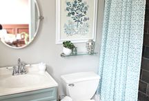 Bathroom inspiration / by Laura Beth Gunter {A Step in the Journey}