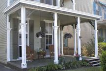 Flat Front Porches