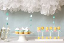 Baby Shower Ideas / Here are some baby shower ideas we've stumbled upon. Hopefully they will give you some inspiration.