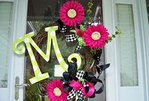 wreaths / by Lovelady ❤️