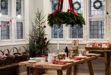 Christmas tables