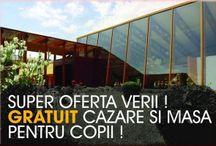 Oferte de Vacanta / Cele mai bune oferte de vacanta pentru Munte si Litoral Romania 2015, tarife early booking, etc.
