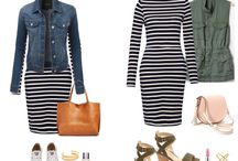 Stripe Dress outfits