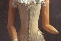 Stays and corsets up to 1700